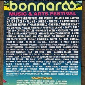 2017 Bonnaroo Music and Arts festival poster